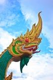 Naka. Beautiful Naka statue with blue sky Stock Images