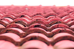 Red roofing background Royalty Free Stock Photo