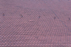 Red roofing-tiles Stock Photo