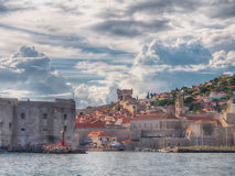 Red Roofs Of Dubrovnik, Croatia Royalty Free Stock Photos