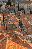Red roofs of Dubrovnik's Old Town Stock Photos