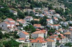 Red roofs Dubrovnik Royalty Free Stock Images