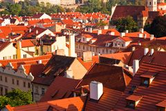 Free Red Roofs Of Prague Stock Photography - 13285422