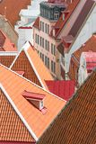 Red roofs. Royalty Free Stock Photo