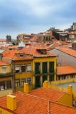 Red roofs in old Porto Royalty Free Stock Photography