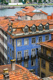 Red roofs in old Porto, Portugal Royalty Free Stock Photo