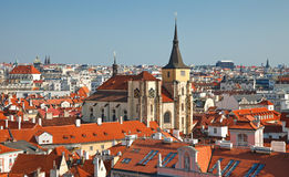 Red roofs of Old Town. Prague, Czech Republic Royalty Free Stock Photo