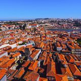 Red Roofs of Porto Royalty Free Stock Photography