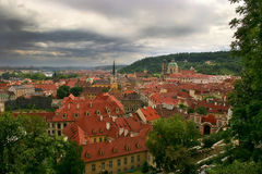 Red roofs of Prague. Stock Photos