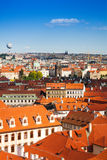 Red roofs in Prague, Czech Republic Stock Photos
