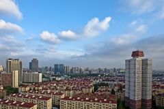 Red roofs of Shanghai. China Stock Photos
