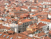 The red roofs of Venice Royalty Free Stock Photos