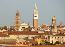 Red Roofs of Venice Royalty Free Stock Photography