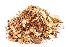 Red rooibos with ginger, toasted coconut Stock Images
