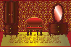 Red room Royalty Free Stock Images