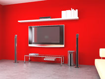 Red room Stock Image