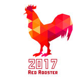 Red Rooster 2017 . Stock Photo