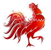Red Rooster illustration Royalty Free Stock Photography