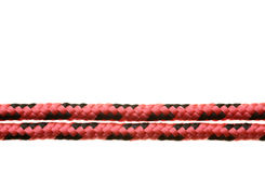 Red rope royalty free stock photo