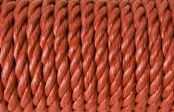 Red Rope Background Running Vertically Royalty Free Stock Image