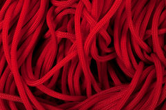 Red rope Royalty Free Stock Photography