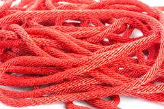 Red rope Stock Images
