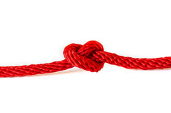 Red Rope . Royalty Free Stock Photography