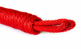 Red Rope . Stock Images