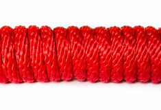 Red Rope . Royalty Free Stock Photo