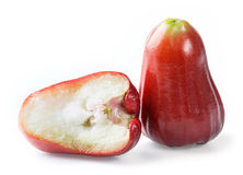 Red rose apple Royalty Free Stock Image