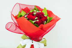 Red rose bouquet Royalty Free Stock Photos