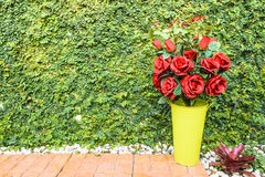 Red rose bouquet for Valentine day Royalty Free Stock Image