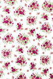 Red Rose Fabric Background, Fragment of colorful retro tapestry Royalty Free Stock Image