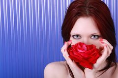 Free Red Rose Face. Royalty Free Stock Images - 14630839