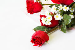 Red rose flower bouquet Royalty Free Stock Photography