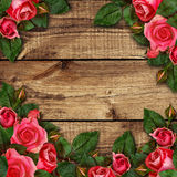Red rose flowers arrangement Stock Photo