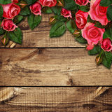 Red rose flowers arrangement Stock Image