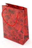 Red Rose Gift Bag Stock Photos
