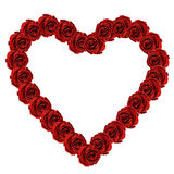 Red rose heart Valentine Royalty Free Stock Photo