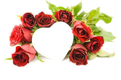 Red rose heart ,valentine love Stock Image