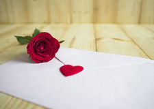 Red rose 1 Royalty Free Stock Images