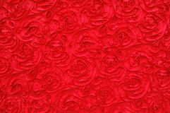 Red rose pattern background Stock Image