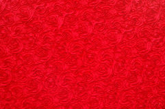 Red rose pattern background Stock Images