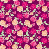 red rose  pattern Stock Photo