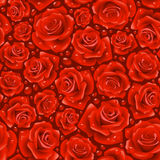 Red Rose seamless background. Vector red Rose seamless background Royalty Free Stock Images
