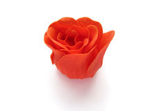 Red rose soap. royalty free stock image