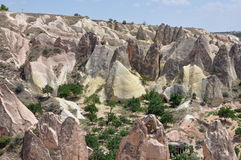 Red Rose Valley, Goreme, Cappadocia, Turkey Royalty Free Stock Photo
