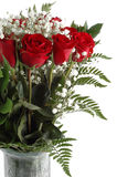 Red Roses. Bouquet of red roses isolated on a white background Royalty Free Stock Image