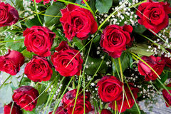 Red roses bouquet Royalty Free Stock Photo