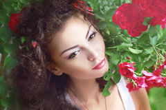 Red roses fashion Stock Photo
